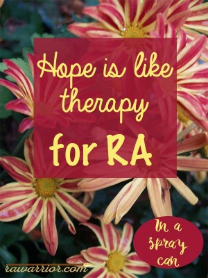 rheumatoid arthritis therapy spray can