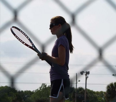 young RA Warrior KB tennis