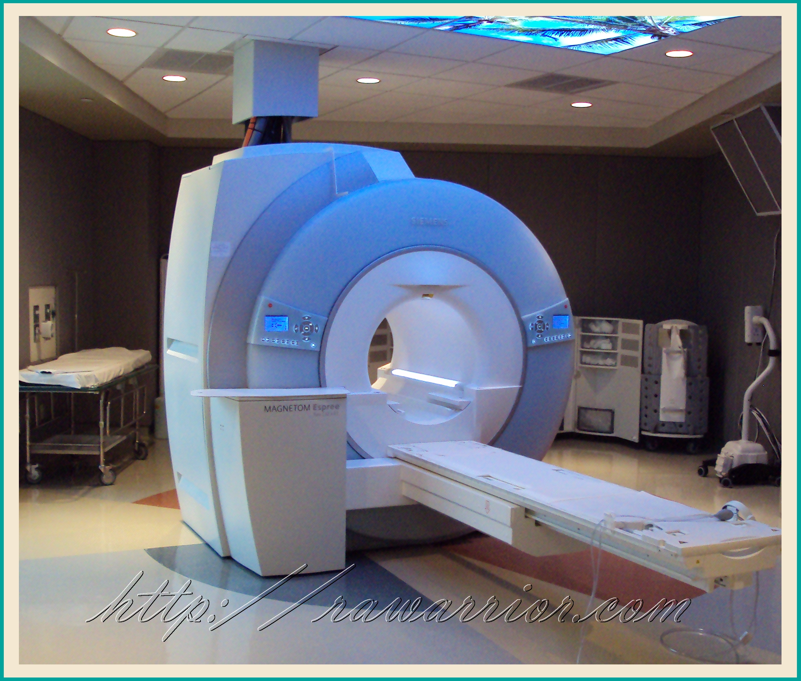 inside mri machine