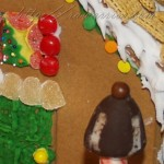 Rheumatoid Arthritis Warrior's gingerbread house close-up