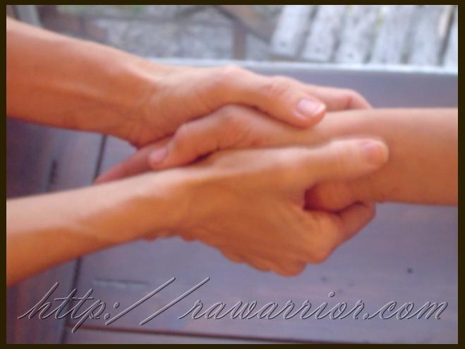 naked handshake