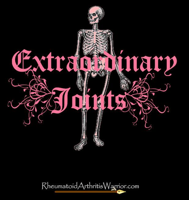 Pink skeleton on black t-shirt