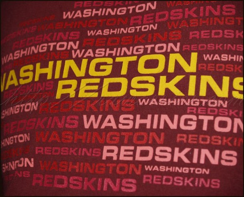 Redskins' T-shirt