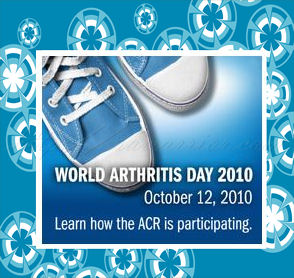 world arthritis day badge ACR