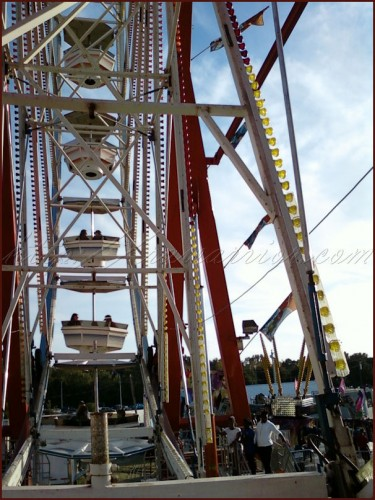 Ferris wheel for Carnival