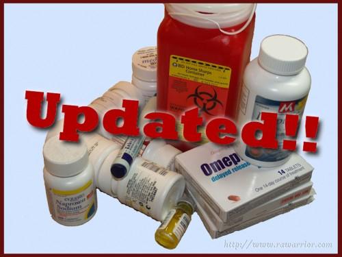 medication bottles updated