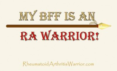Rheumatoid Arthritis t-shirt for BFF