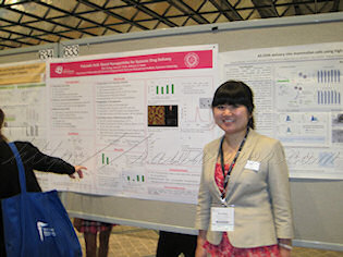 Nan at Society of Biomaterials Poster session