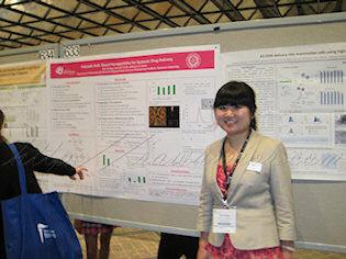 Nan at Society of Biomaterials Poster session