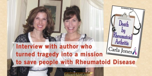 Author interview  about cause of death Rheumatoid Arthritis