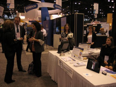 busy RPF exhibit at ACR 2011