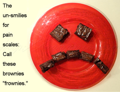 Frowning brownies