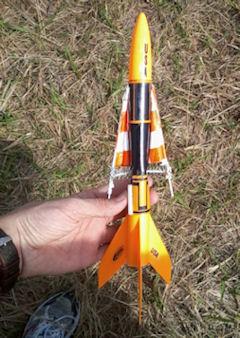 Orange rocket