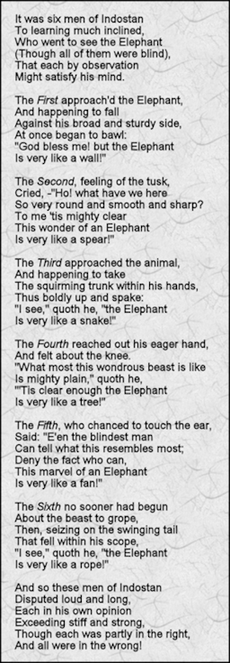 the blind man and the elephant pdf
