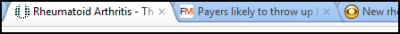 Screenshot of FP tab: Payers Throw Up-