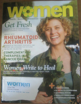 Women Mag cover RA
