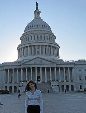 Kelly at US Capitol