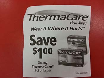 Thermacare coupon