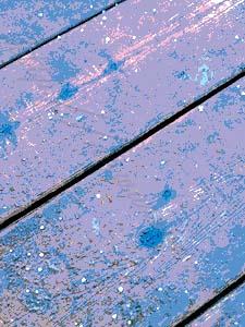 cracks between boards