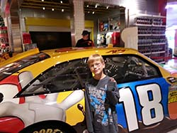Kyle Busch m&m car