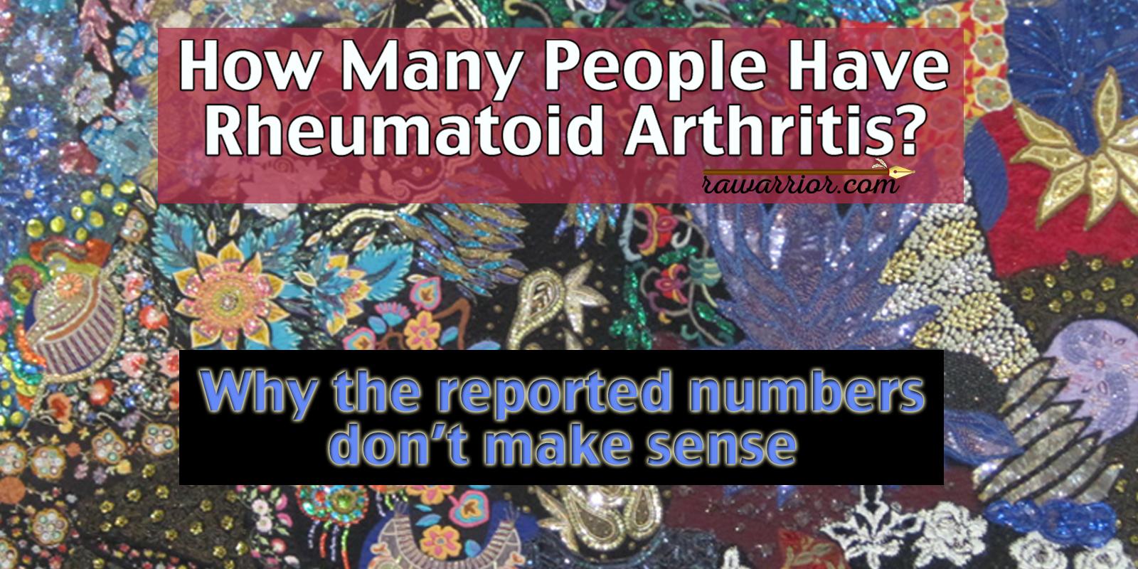 How Many People Have Rheumatoid Arthritis