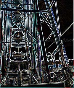 Ferris wheel for blog carnival