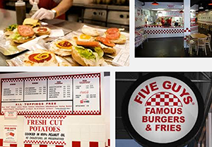 Five Guys screenshot