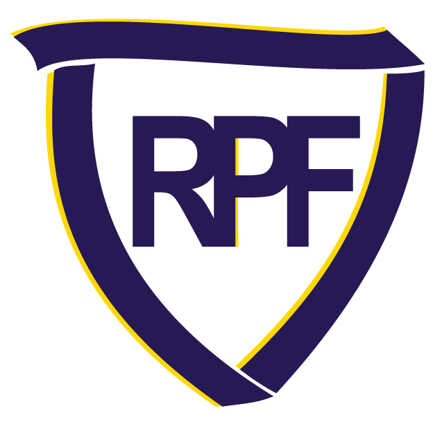 Rheumatoid Patient Foundation ribbon-shield