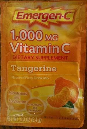 Emergen-C Tangerine flavor