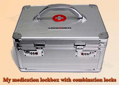medicine combination lockbox