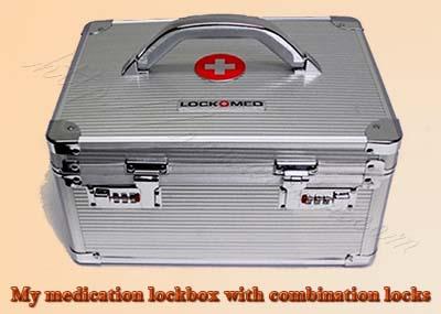 medicine combination lockbox