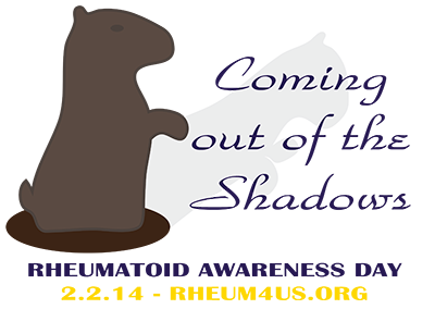 Rheumatoid Awareness Day - Groundhog Day