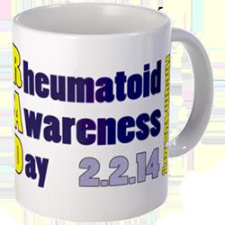 Rheumatoid Awareness mug