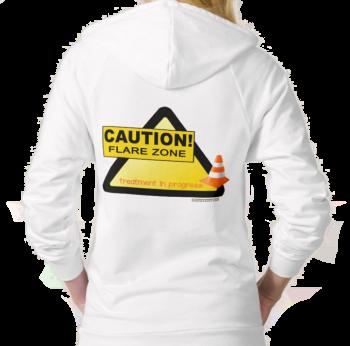 rheumatoid arthritis flare hoodie