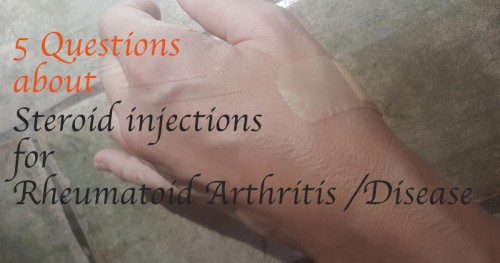 steroid injections for rheumatoid arthritis