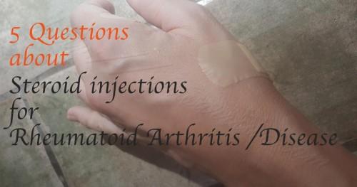 steroid injections for rheumatoid arthritis