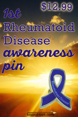 Rheumatoid Arthritis Awareness Pin