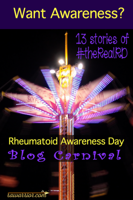 Rheumatoid Awareness Day Blog Carnival
