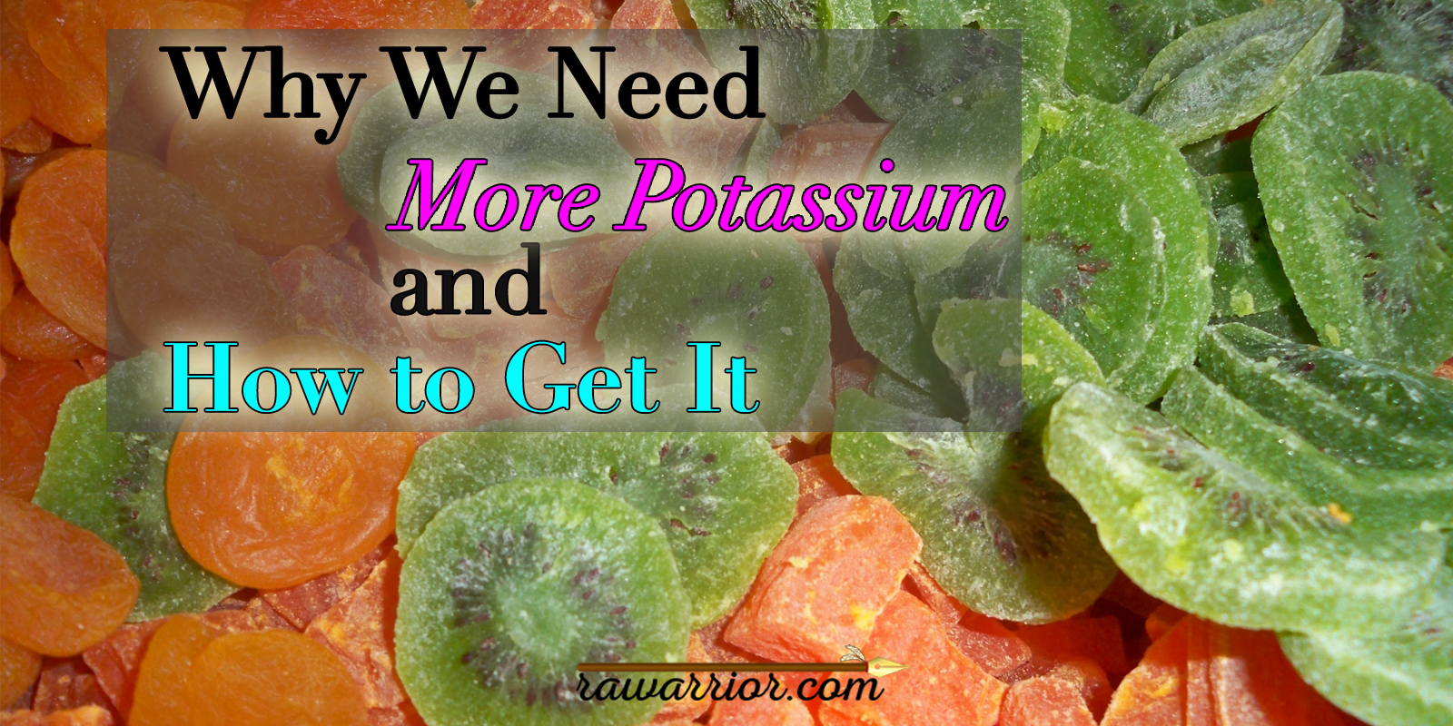 Why We Need More Potassium and How to Get It