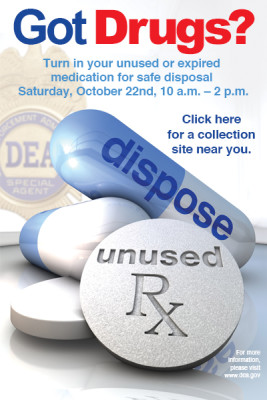 Prescription drug take-back day