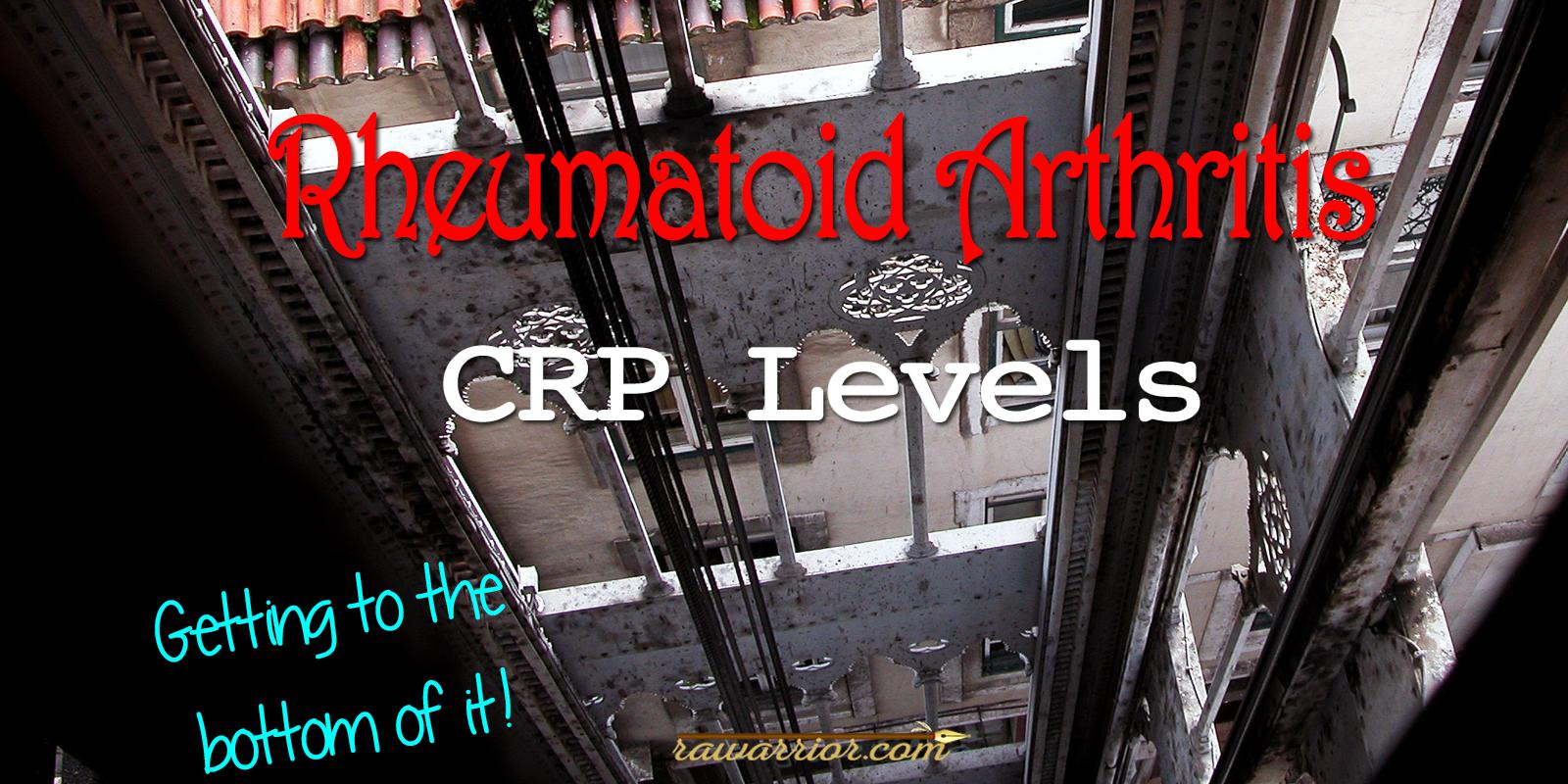 Rheumatoid Arthritis CRP Levels