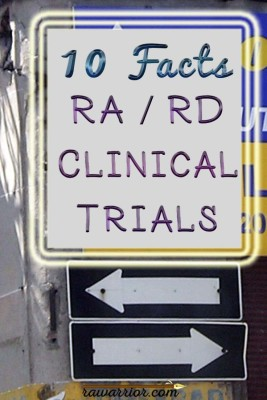 Rheumatoid Arthritis Clinical Trials: 10 Facts