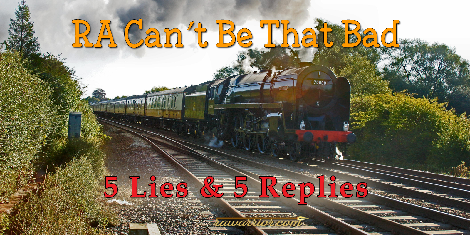 RA Can't Be That Bad – 5 Lies and 5 Replies