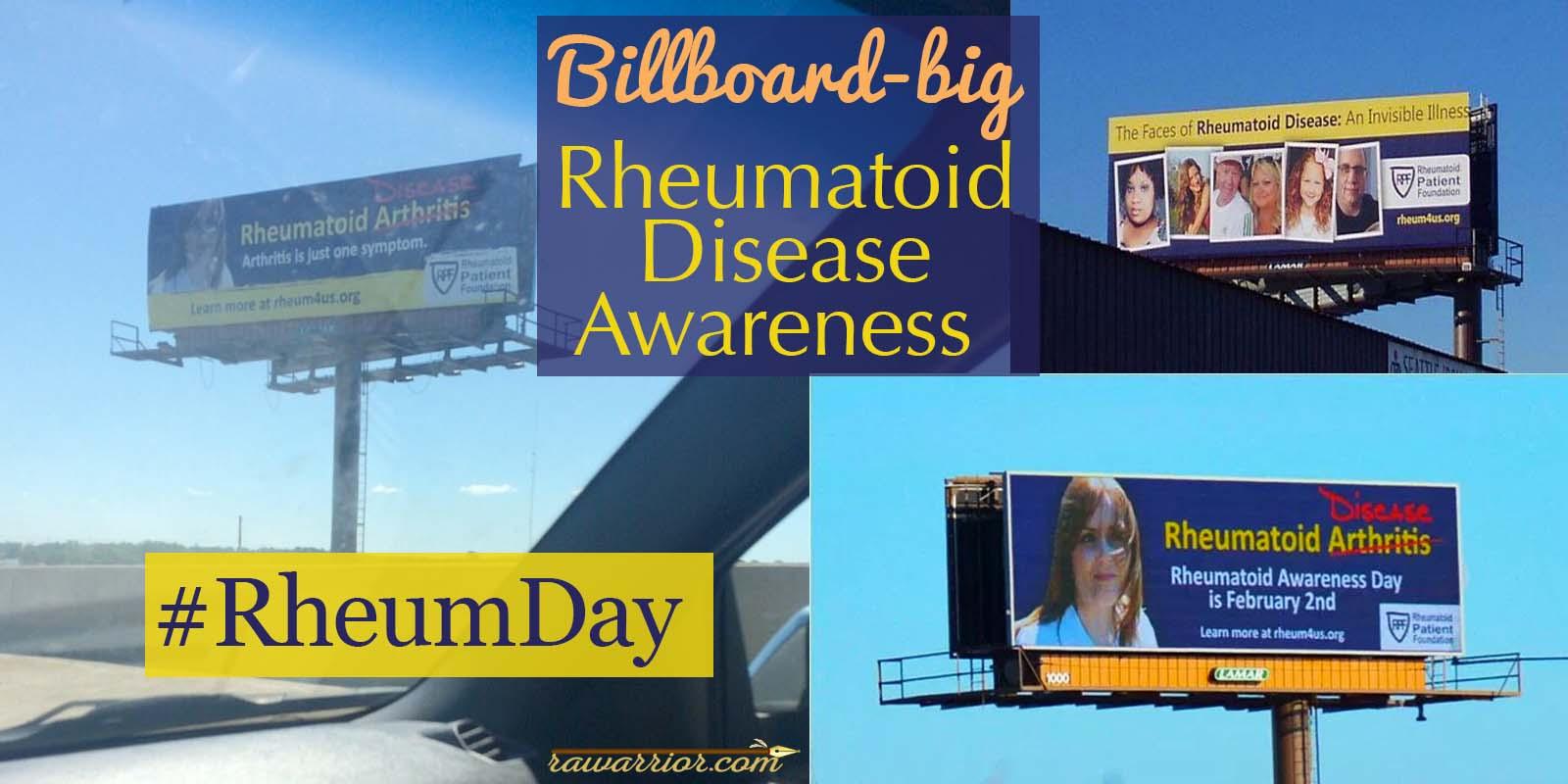 Rheumatoid Disease Awareness Expands