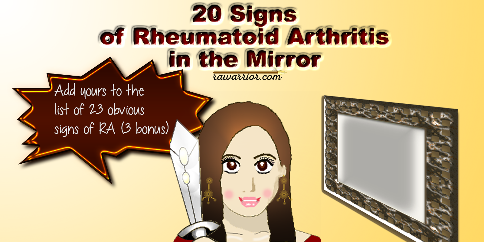 20 signs of rheumatoid arthritis