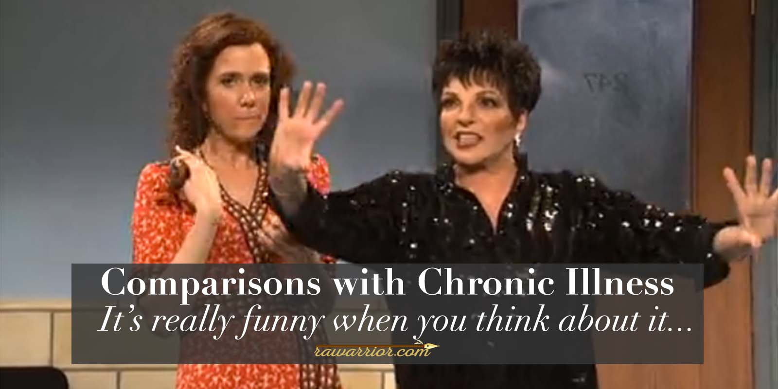Comparisons with Chronic Illness Kirsten Wiig