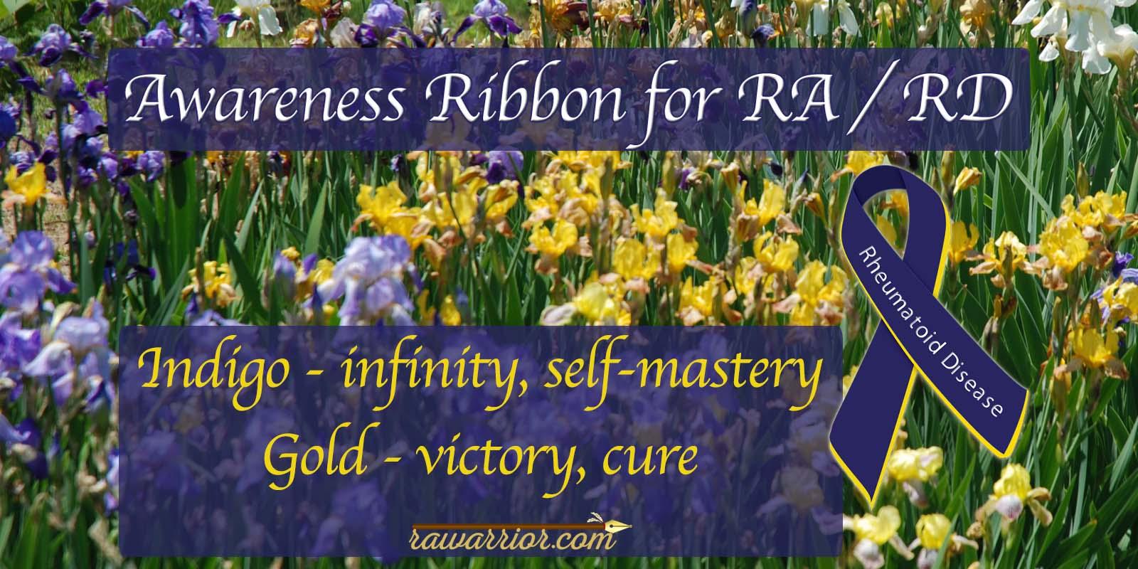 Awareness Ribbon for Rheumatoid Arthritis