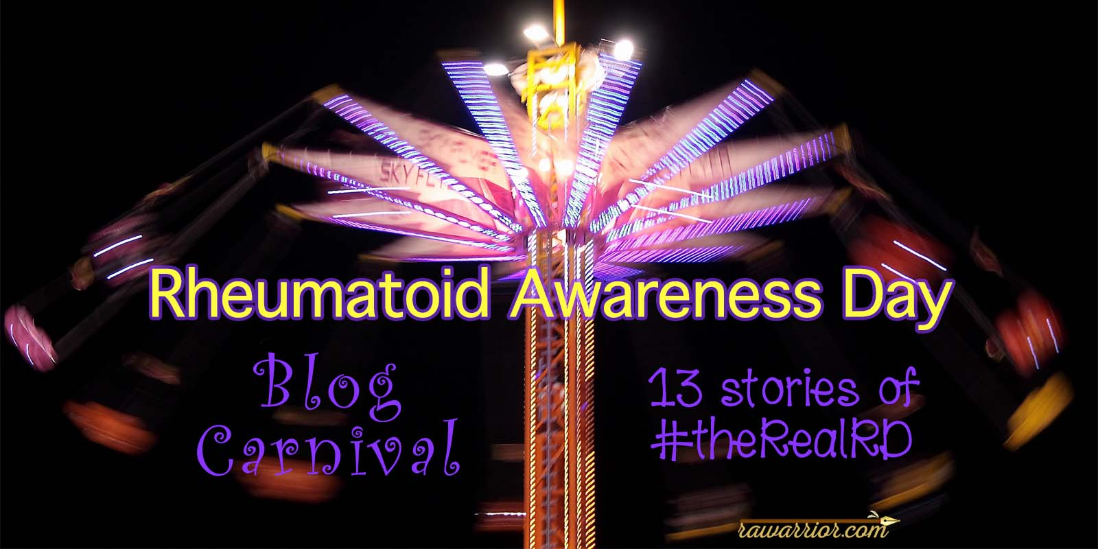 Rheumatoid Arthritis Day Blog Carnival