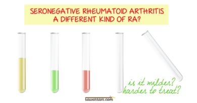 Seronegative Rheumatoid Arthritis Is Hazy
