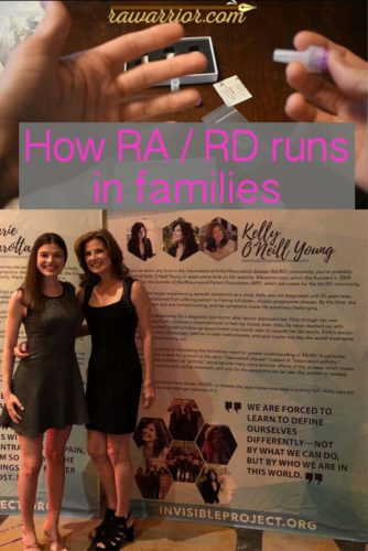 RA runs in families
